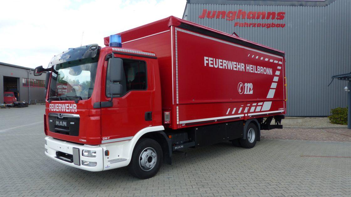 Feuerwehr Heilbronn Junghanns Fahrzeugbau